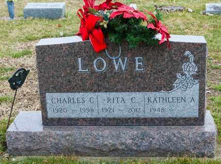 LOWE, RITA C - Richland County, Ohio | RITA C LOWE - Ohio Gravestone Photos