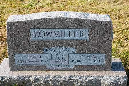 LOWMILLER, VERN L - Richland County, Ohio | VERN L LOWMILLER - Ohio Gravestone Photos