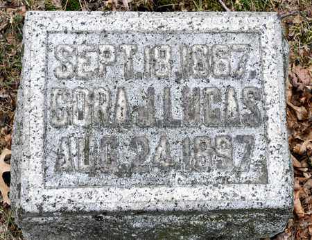 LUCAS, CORA J - Richland County, Ohio | CORA J LUCAS - Ohio Gravestone Photos