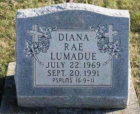 LUMADUE, DIANA RAE - Richland County, Ohio | DIANA RAE LUMADUE - Ohio Gravestone Photos