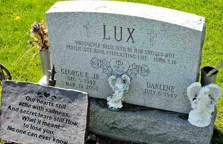 LUX JR, GEORGE E - Richland County, Ohio | GEORGE E LUX JR - Ohio Gravestone Photos