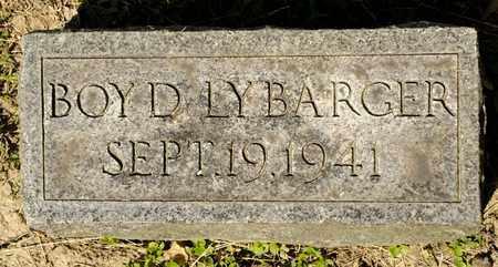 LYBARGER, BOYD - Richland County, Ohio | BOYD LYBARGER - Ohio Gravestone Photos