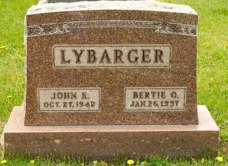 LYBARGER, JOHN K - Richland County, Ohio | JOHN K LYBARGER - Ohio Gravestone Photos