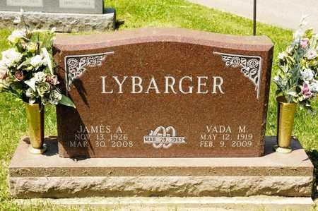 LYBARGER, JAMES A - Richland County, Ohio | JAMES A LYBARGER - Ohio Gravestone Photos