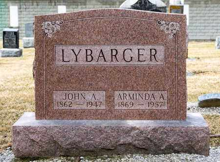 LYBARGER, ARMINDA A - Richland County, Ohio | ARMINDA A LYBARGER - Ohio Gravestone Photos