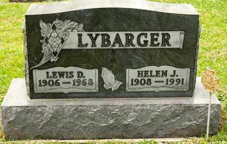 LYBARGER, LEWIS D - Richland County, Ohio | LEWIS D LYBARGER - Ohio Gravestone Photos