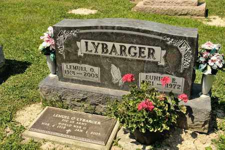 LYBARGER, EUNICE E - Richland County, Ohio | EUNICE E LYBARGER - Ohio Gravestone Photos