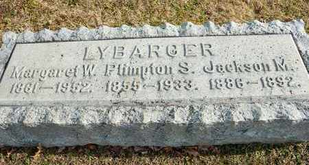 LYBARGER, JACKSON M - Richland County, Ohio | JACKSON M LYBARGER - Ohio Gravestone Photos
