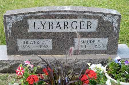 LYBARGER, MAUDE E - Richland County, Ohio | MAUDE E LYBARGER - Ohio Gravestone Photos