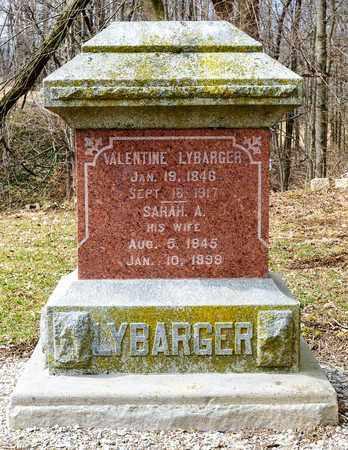 LYBARGER, VALENTINE - Richland County, Ohio | VALENTINE LYBARGER - Ohio Gravestone Photos