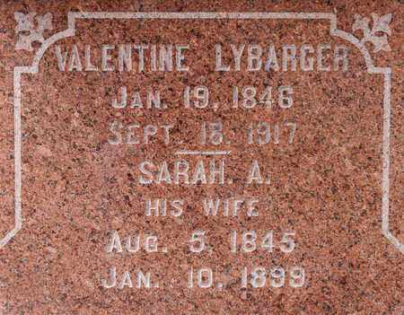 LYBARGER, VALENTINE - Richland County, Ohio | VALENTINE LYBARGER - Ohio Gravestone Photos