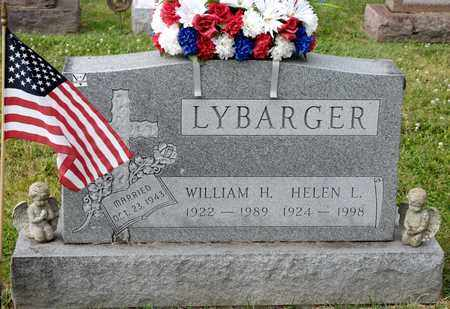 LYBARGER, WILLIAM H - Richland County, Ohio | WILLIAM H LYBARGER - Ohio Gravestone Photos