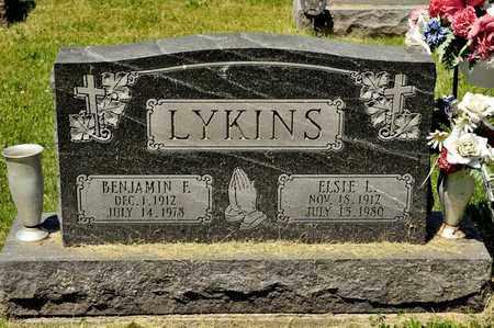 LYKINS, BENJAMIN F - Richland County, Ohio | BENJAMIN F LYKINS - Ohio Gravestone Photos