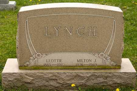 LYNCH, MILTON J - Richland County, Ohio | MILTON J LYNCH - Ohio Gravestone Photos