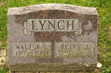 LYNCH, WALTER E - Richland County, Ohio | WALTER E LYNCH - Ohio Gravestone Photos