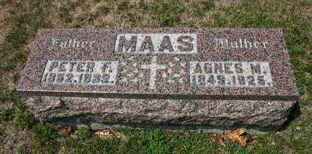 MAAS, PETER F - Richland County, Ohio | PETER F MAAS - Ohio Gravestone Photos