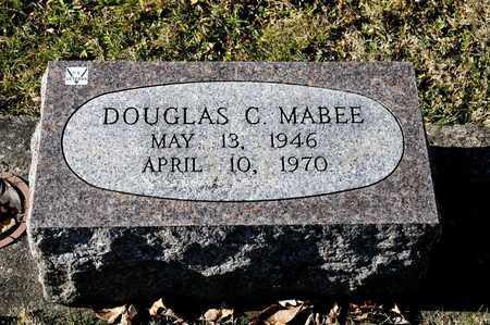 MABEE, DOUGLAS C - Richland County, Ohio | DOUGLAS C MABEE - Ohio Gravestone Photos