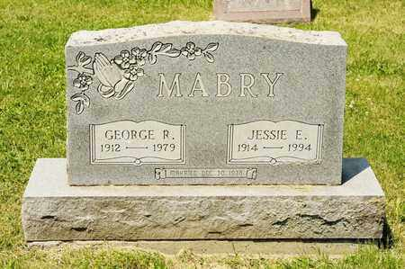 MABRY, GEORGE R - Richland County, Ohio | GEORGE R MABRY - Ohio Gravestone Photos