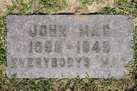 MAC, JOHN - Richland County, Ohio | JOHN MAC - Ohio Gravestone Photos