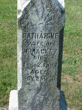 MACKEY, CATHARINE - Richland County, Ohio | CATHARINE MACKEY - Ohio Gravestone Photos