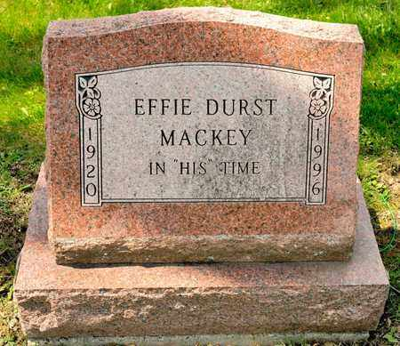 DURST MACKEY, EFFIE - Richland County, Ohio | EFFIE DURST MACKEY - Ohio Gravestone Photos