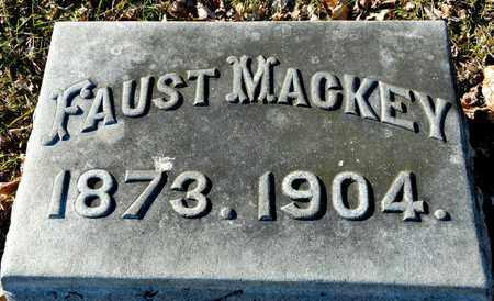 MACKEY, FAUST - Richland County, Ohio | FAUST MACKEY - Ohio Gravestone Photos