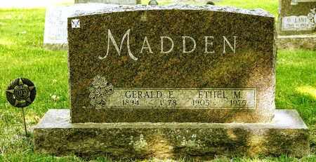 MADDEN, GERALD E - Richland County, Ohio | GERALD E MADDEN - Ohio Gravestone Photos