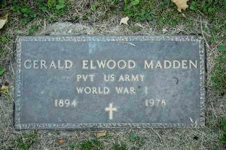 MADDEN, GERALD ELWOOD - Richland County, Ohio | GERALD ELWOOD MADDEN - Ohio Gravestone Photos