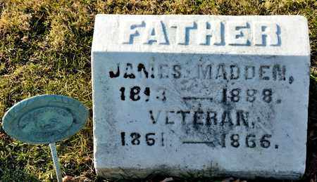 MADDEN, JAMES - Richland County, Ohio | JAMES MADDEN - Ohio Gravestone Photos