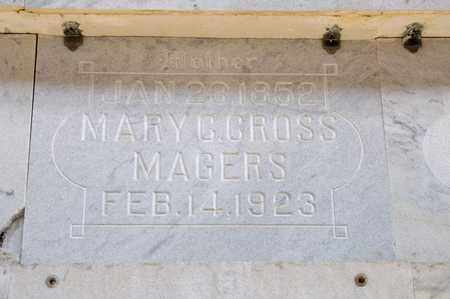 CROSS MAGERS, MARY C - Richland County, Ohio | MARY C CROSS MAGERS - Ohio Gravestone Photos