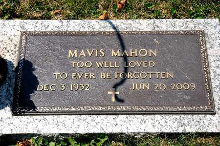 MAHON, MAVIS - Richland County, Ohio | MAVIS MAHON - Ohio Gravestone Photos