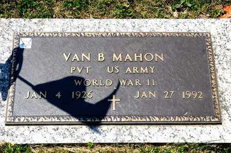 MAHON, VAN B - Richland County, Ohio | VAN B MAHON - Ohio Gravestone Photos