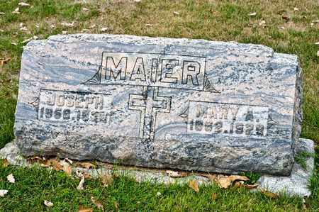 MAIER, MARY A - Richland County, Ohio | MARY A MAIER - Ohio Gravestone Photos
