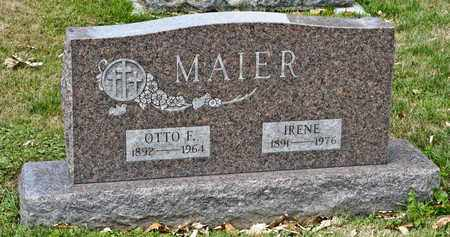 MAIER, IRENE - Richland County, Ohio | IRENE MAIER - Ohio Gravestone Photos