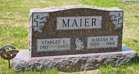 MAIER, STANLEY L - Richland County, Ohio | STANLEY L MAIER - Ohio Gravestone Photos