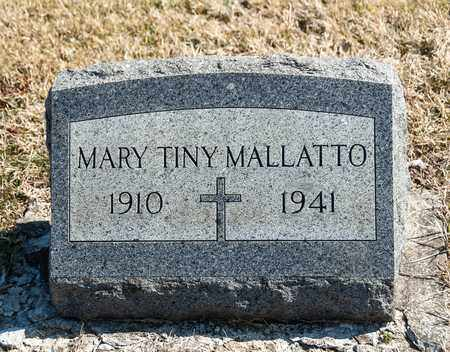 MALLATTO, MARY TINDARA - Richland County, Ohio | MARY TINDARA MALLATTO - Ohio Gravestone Photos