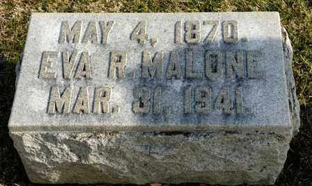 MALONE, EVA R - Richland County, Ohio | EVA R MALONE - Ohio Gravestone Photos
