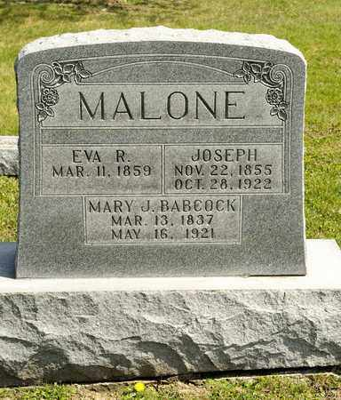 MALONE, EVA R - Richland County, Ohio | EVA R MALONE - Ohio Gravestone Photos