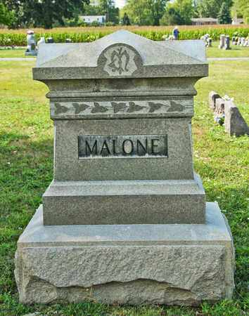 MALONE, JAMES - Richland County, Ohio | JAMES MALONE - Ohio Gravestone Photos