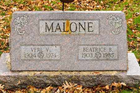 MALONE, VERL V - Richland County, Ohio | VERL V MALONE - Ohio Gravestone Photos