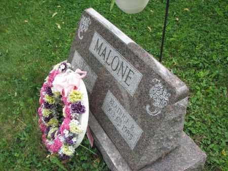 MALONE, VERL V. - Richland County, Ohio | VERL V. MALONE - Ohio Gravestone Photos