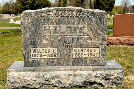 MALONE, MARTHA A - Richland County, Ohio | MARTHA A MALONE - Ohio Gravestone Photos
