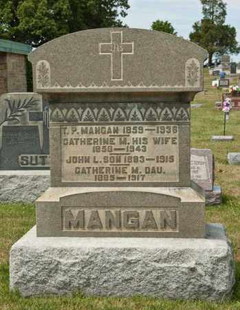 MANGAN, CATHERINE M - Richland County, Ohio | CATHERINE M MANGAN - Ohio Gravestone Photos