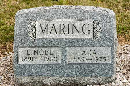 MARING, E NOEL - Richland County, Ohio | E NOEL MARING - Ohio Gravestone Photos