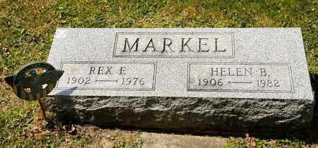 MARKEL, REX F - Richland County, Ohio | REX F MARKEL - Ohio Gravestone Photos