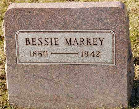 MARKEY, BESSIE - Richland County, Ohio | BESSIE MARKEY - Ohio Gravestone Photos