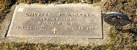 MARKEY, CHESTER J - Richland County, Ohio | CHESTER J MARKEY - Ohio Gravestone Photos