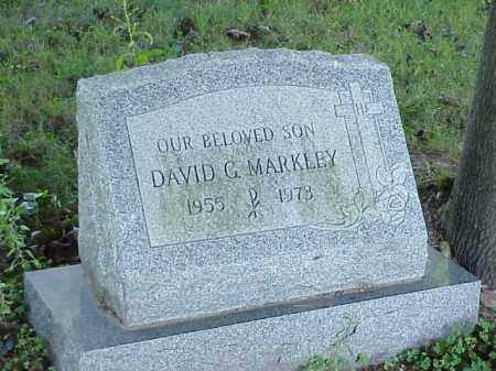 MARKLEY, DAVID G. - Richland County, Ohio | DAVID G. MARKLEY - Ohio Gravestone Photos