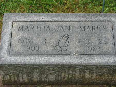 MARKS, MARTHA JANE - Richland County, Ohio | MARTHA JANE MARKS - Ohio Gravestone Photos