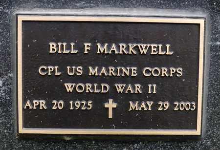 MARKWELL, BILL F - Richland County, Ohio | BILL F MARKWELL - Ohio Gravestone Photos
